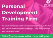 Online personal development training at yatharth marketing solutions | bangalore