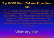 Top 15 most popular seo websites | dm web promotio