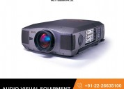 Audio visual equipment hire in india