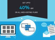 Get upto 40 of on all web hosting plans