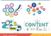 Content writing and marketing services