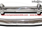Volvo P1800 bumpers (1963-1973) stainless steel