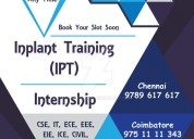 internship in chennai for cse