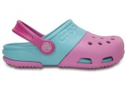 Crocs electro ii carnation ice blue unisex toddler