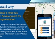 Gis : mobile & web gis solution development