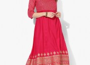 Designer kurtis with up to 80% off at mirraw