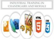 Six/6 month industrial training in chandigarh