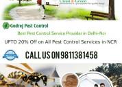 Get instant solution godrej pest control gurgaon