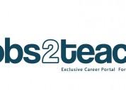 Teaching jobs | teachers recruitment | job search