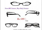 Arc lens free,pay only for frames at eyelenskart