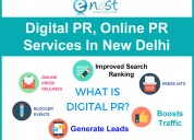 Digital pr, online pr services in delhi, india