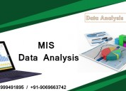 Attend job oriented mis training course in noida