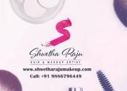 Makeup artist in bangalore | www.shwetharajumakeup