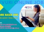 Home based computer typing job, home based data en