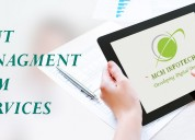 Best cms website services are provided by mcm info