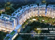 3bhk premium green flats with servant room