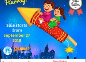 Buy crackers online with festivezone chennai