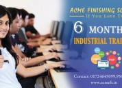 Six/6 months industrial training in chandigarh
