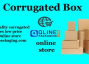 Buy brown corrugated boxes online for packing at b