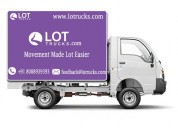 Hire mini truck for rent - +918088939393