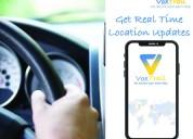 Voxtrail mobile app for vehicle tracking