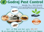 How do i receive the godrej pest control? call tol