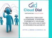 Enterprise solutions - cloud dial