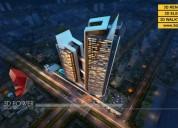 3d high rise apartment rendering & walkthrough ser