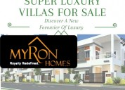 Super luxury villas for sale  in tukkuguda