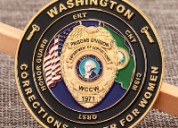 Department of corrections challenge coins