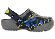 Crocs batman glow in the dark funlab smoke clogs f