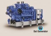 Used generator sale - 5 kva to 2400 kvs skoda-hyun