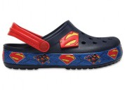 Crocs crocband superman navy clogs shoes for boys