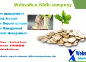 Nidhi banking software in hyderabad