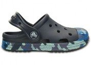 Crocs bump it camo navy clog for boys