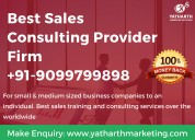 Best sales consulting services - yatharth marketing solutions