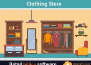 Retail billing software for clothing store