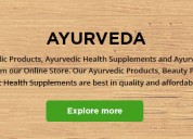 Online herbal and ayurvedic products at reasonable