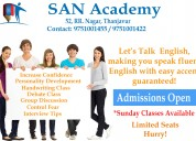 Spoken english class in thanjavur
