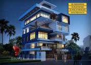 3d bungalow rendering & walkthrough services by 3d