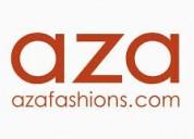 Upto 50% off on designer's womenswear - aza