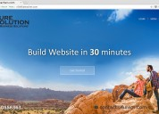 Create a website in 30 minutes