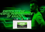 Amaze india launched new tubular battery products