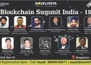 Blockchain summit 2018 bangalore
