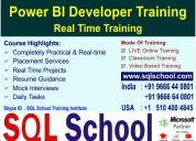 Excellent project oriented training on microsoft p