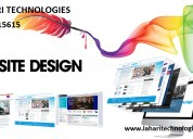 Website designing at lahari technologies