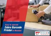 Easy to operate zebra barcode printer in mumbai