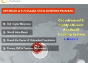 Applicant tracking system & recruitment software