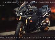 Renew bike insurance online in india