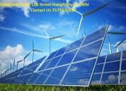 Get receive solar led street lights delhi